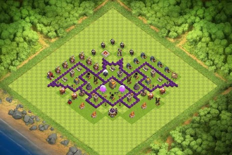 Maps COC TH 7 Trophy Base - náhled