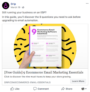 2 Facebook Ad Example - Drip