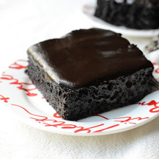 Chocolate Mocha Zucchini Cake