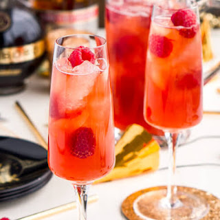 New Year's Eve Champagne Punch.