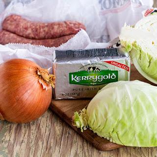 Bratwurst & Cabbage.