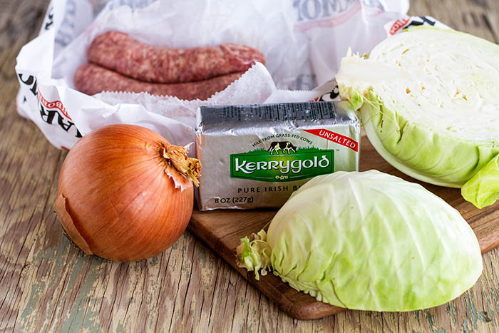 Bratwurst & Cabbage Recipe
