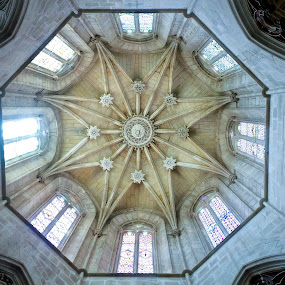 Batalha Monastery by Júlio Alves - Buildings & Architecture Places of Worship ( building, ancient, god, church, monastery, architecture, batalha )