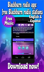 Blackburn radio app: free Blackburn radio stations Screenshot
