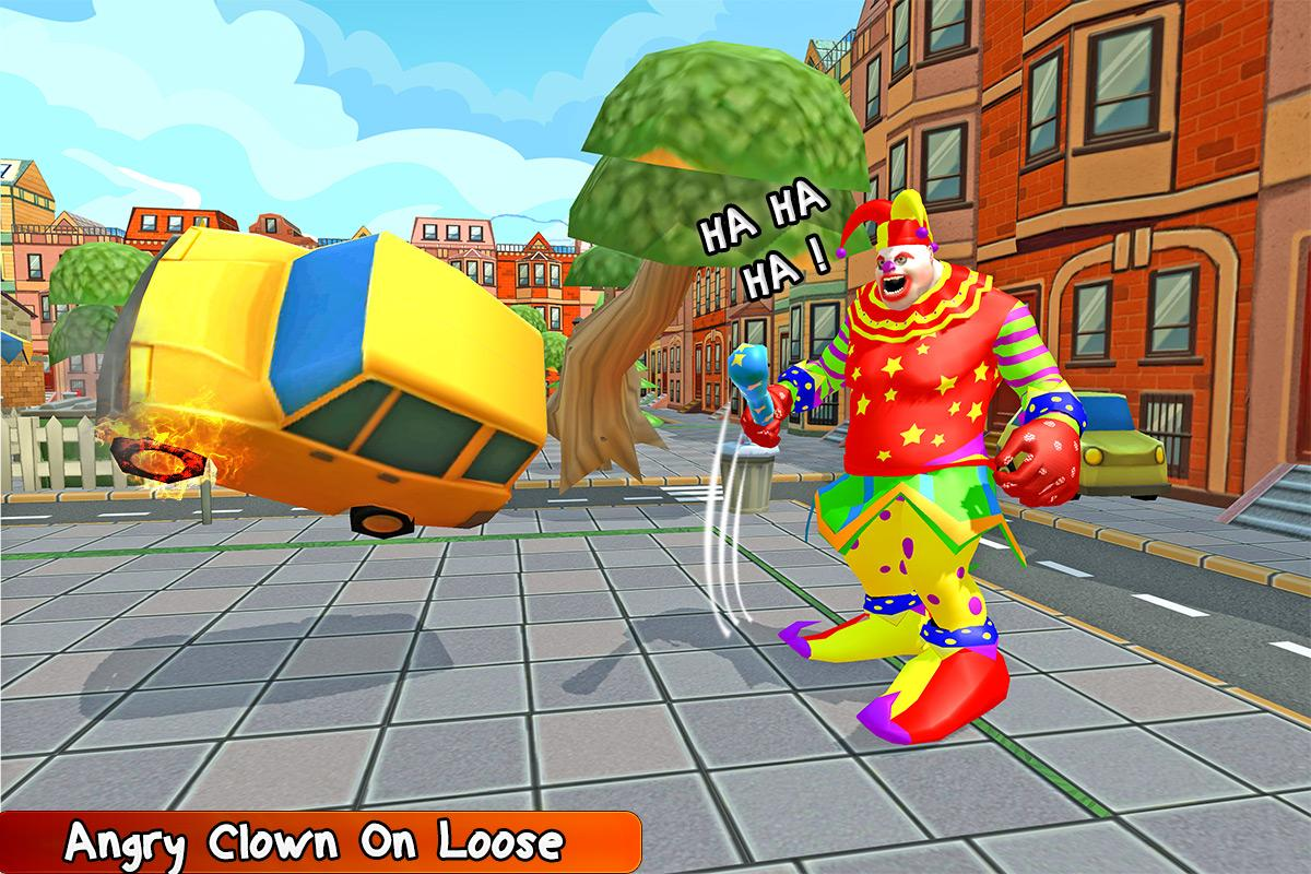 Killer Clown Revenge Simulator- screenshot