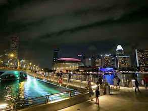 Photo: Esplanade and Marina Bay