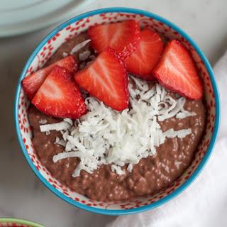 Chocolate Chia Breakfast Pudding
