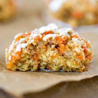 Flourless Oatmeal Carrot Cake Cookies