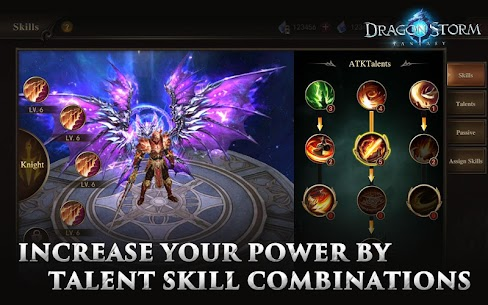 Dragon Storm Fantasy Mod Apk 2.8.0 (Menu Mod + Dumb Enemy) 5