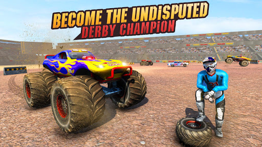 Real Monster Truck Demolition Derby Crash Stunts apkpoly screenshots 4