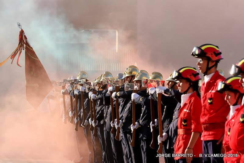 Associação Humanitária dos Bombeiros Voluntários de Lamego comemorou o seu 141º aniversário