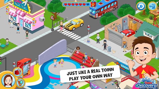 my town discovery pretend play apps on google play my town discovery pretend play apps