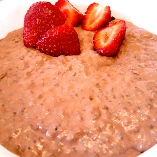 Chocolate Peanut Butter Chia Protein Pudding