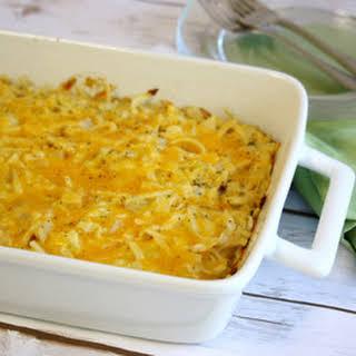 Amish Cabbage Noodle Casserole.