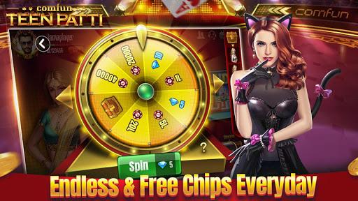 Teen Patti Comfun-3 Patti Flash Card Game Online 5.5.20200611 screenshots 4