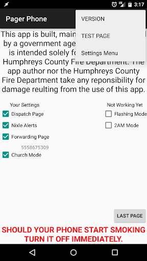 Humphreys County Phone Pager