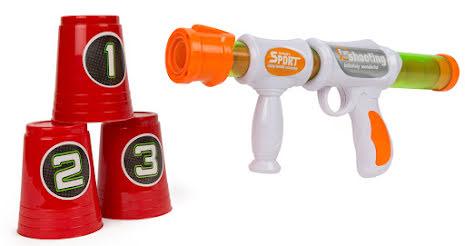 Pumpgevär med 12 kulor