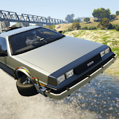 Flying DeLorean Simulator