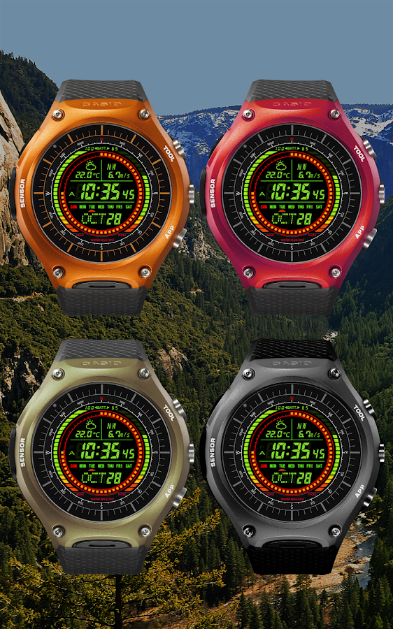 F02 WatchFace for Android Wear- screenshot
