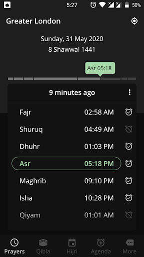 Prayer Times and Qibla 2.4.7 screenshots 6