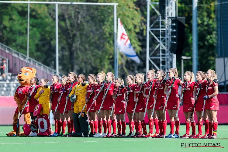 Red Panthers kwalificeren zich voor halve finales EK hockey na gelijkspel tegen Engeland