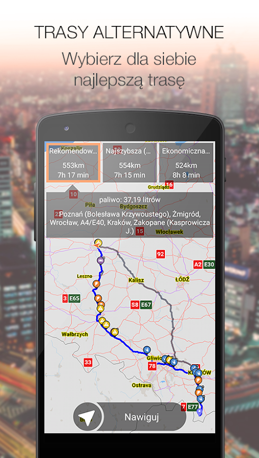 Nawigacja i mapy NaviExpert - screenshot