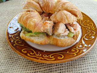 Wasabi Mayo Salmon And Avocado Sandwich Recipe