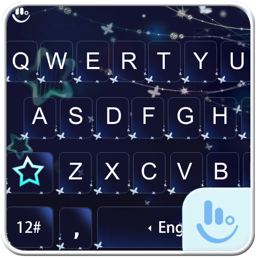 Mid Night Star Keyboard Theme 生活 App LOGO-硬是要APP