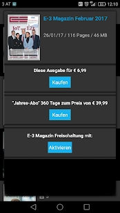 E-3 Magazin- screenshot thumbnail