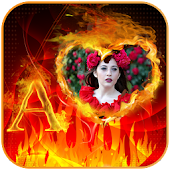 Fire Photo Frames Maker 2017