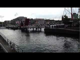Video: Kieler Woche 2012 - Klappbrücke, Zugbrücke, Hörnbrücke