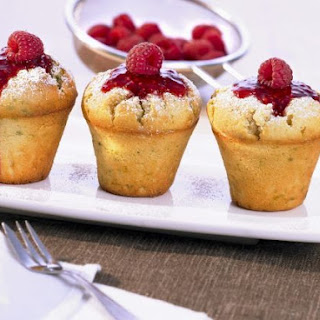 Italian Cheese and Berry Cakes