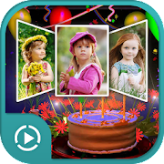 Birthday Video Maker 2018 - Slideshow with Song