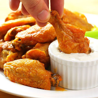 Really Good Oven-Fried Buffalo Wings.