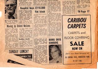 Photo: KINGSTON BOROUGH NEWS January 3, 1976 (2/4) キングストン・ボロー・ニューズ