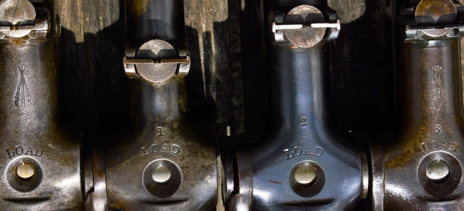 load markings on vintage BSA