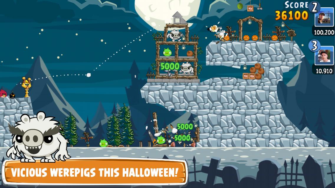 Angry Birds Friends- screenshot