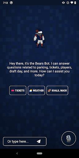 Chicago Bears Official App screenshot 1