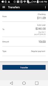 Tyndall e-Banking screenshot 2
