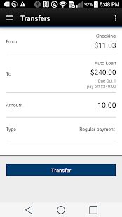 Tyndall e-Banking- screenshot thumbnail