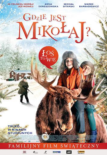 Polski plakat filmu 'Gdzie Jest Mikołaj?'