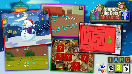 Kids Christmas Join the Dots- screenshot thumbnail