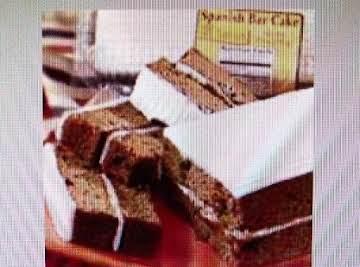 THE  A & P Original SPANISH  BAR CAKE !