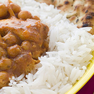 Chicken Curry With Chickpeas.