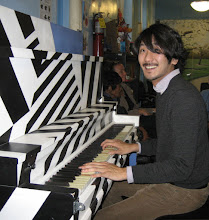 Photo: Sing for Hope artist Jae Kyo Han performed and told us about when he began to play the piano.