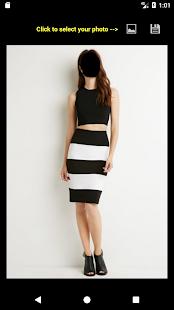 Skirt Blouse Face Changer - náhled