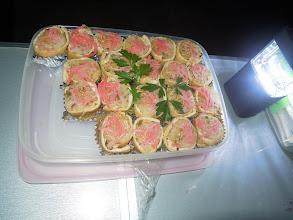 Photo: シブジャガさんの奥様のお稲荷さんは、いつもながらランナーに大好評!一口サイズで食べやすく美味しい!