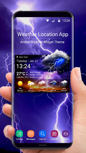 Screenshot for Local Weather Pro in United States Play Store