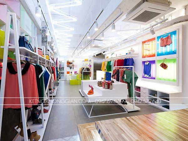 thiết kế shop thời trang đầy màu sắc 3