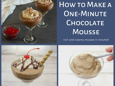 How to Make a One-Minute Chocolate Mousse